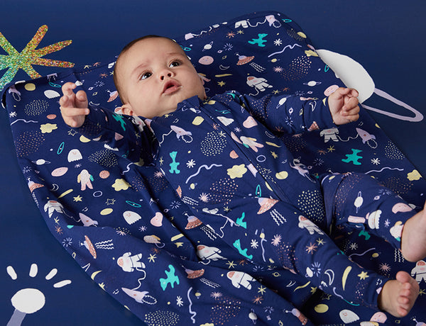 SPACE OUT - SLEEP SUIT