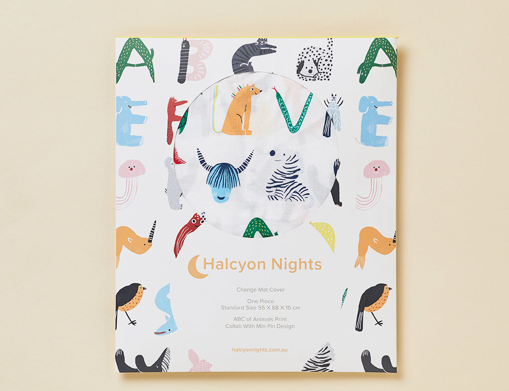 ABC OF ANIMALS - CHANGE MAT COVER