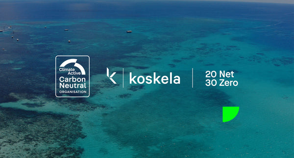 Koskela is Climate Active Carbon Neutral Certified!