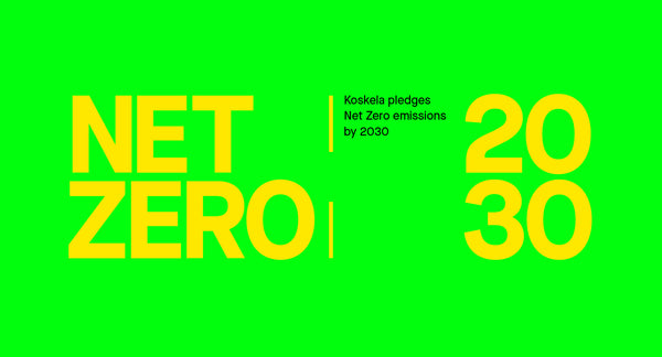 Announcing Koskela's Net Zero 2030 Commitment
