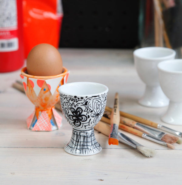Easter long weekend eggcup decorating for kids!