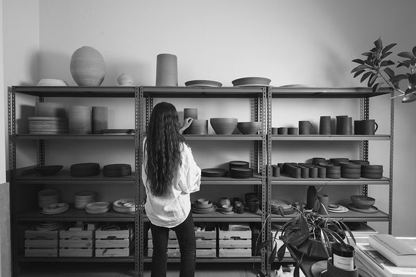 The ceramicist with the universe at her throw: Shari Lowndes