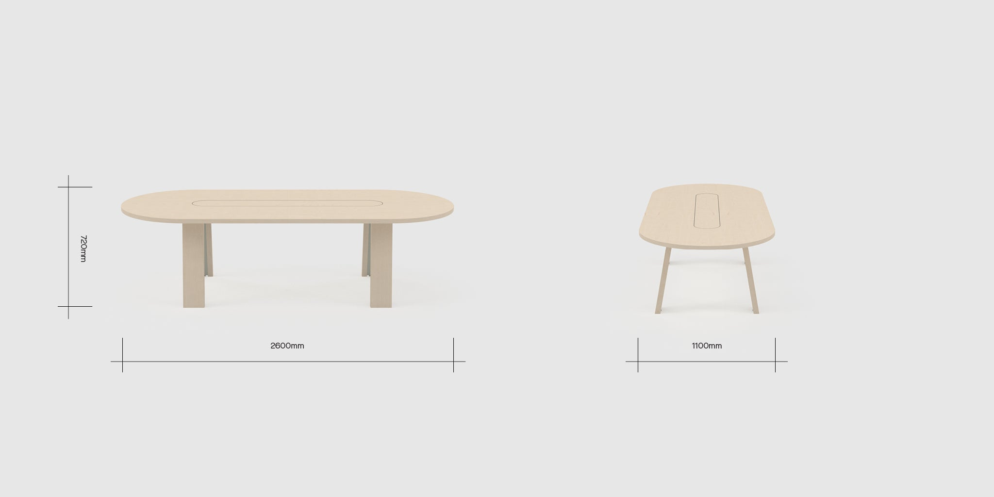 Anssi 6 Person Table Dimensions