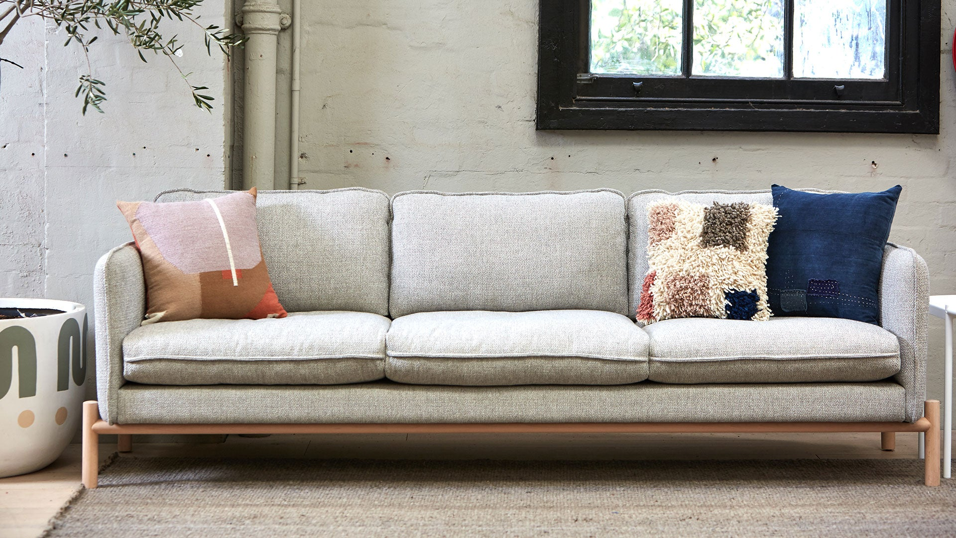 Brolga 3 Seater Sofa