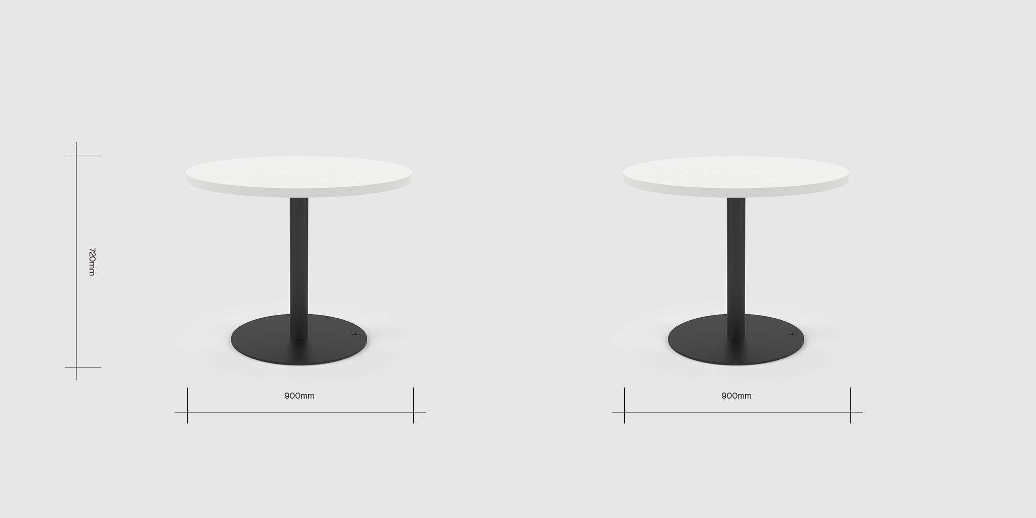 Disc 3 Person Table Dimensions