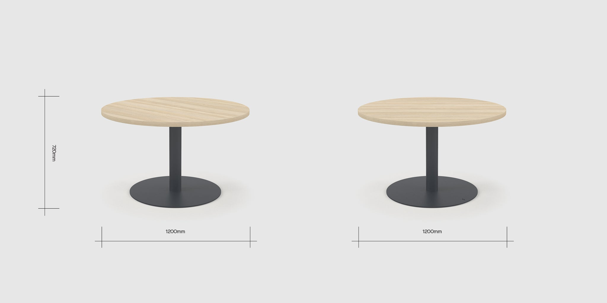 Disc 5 Person Table Dimensions