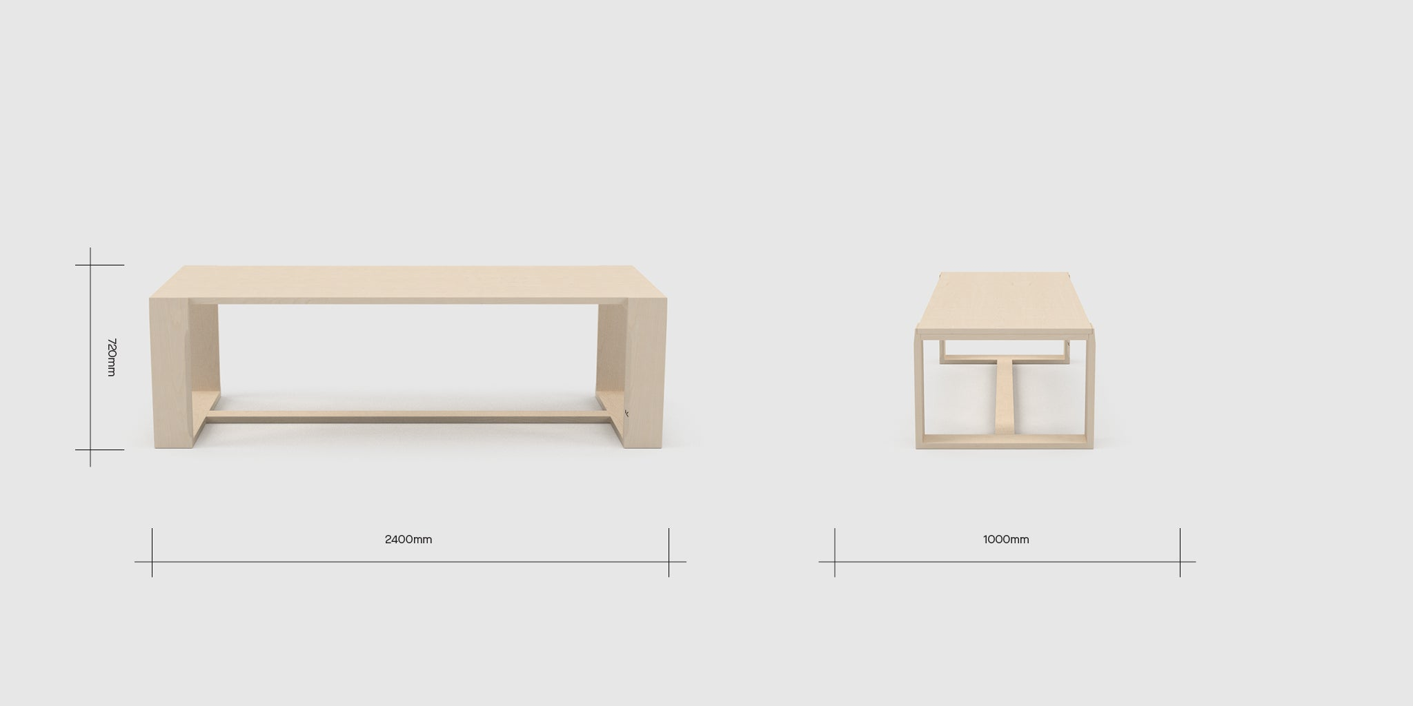 HB 6 Person Table Dimensions