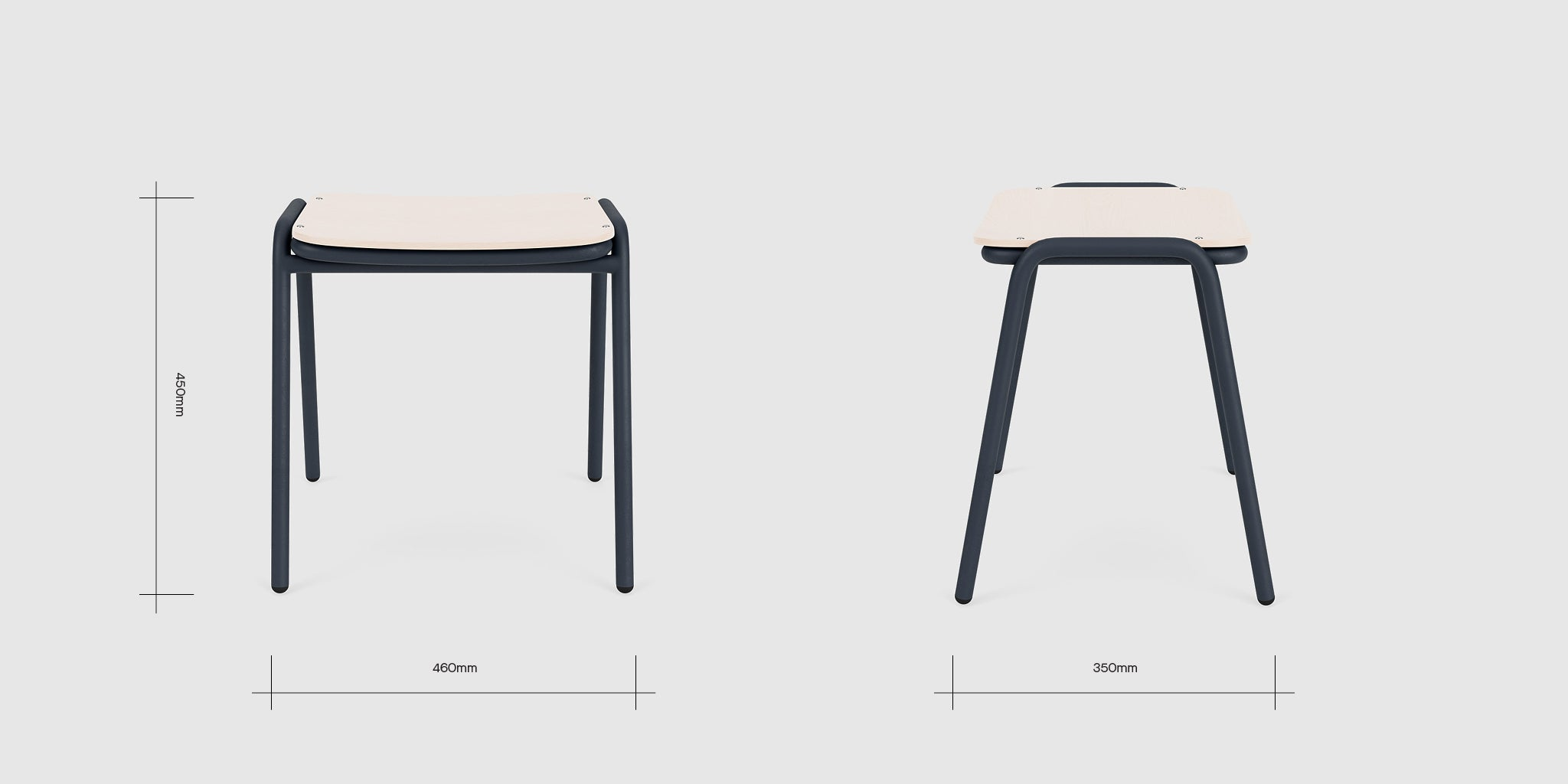 Jake Low Stool Dimensions