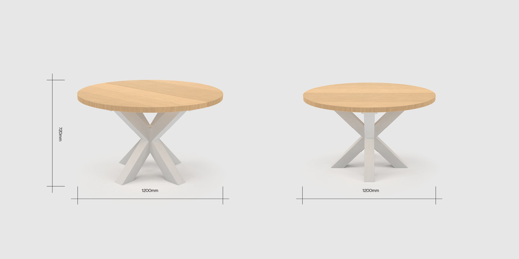 Patonga 4 Person Round Table Dimensions
