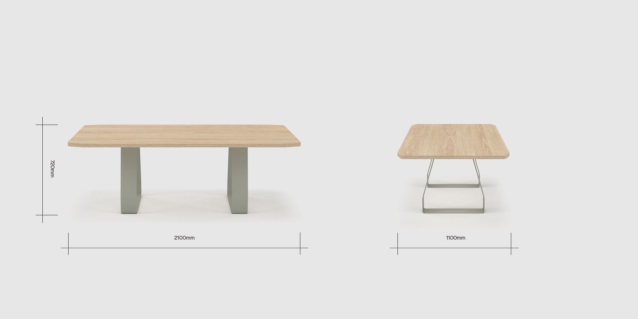 Stirrup 6 Person Table Dimensions