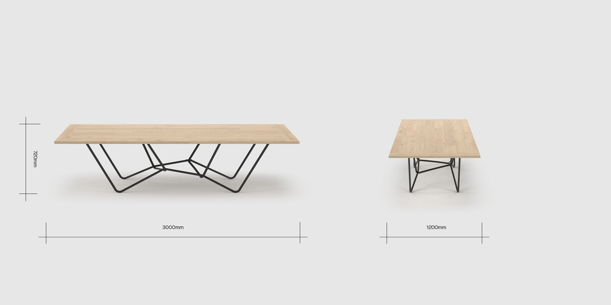 String 10 Person Table Dimensions