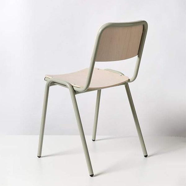 Imperfect - Jake Chair - Satin Saltbush Grey