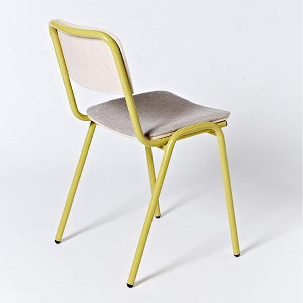 Imperfect - Jake Chair - Satin Yellow Ochre