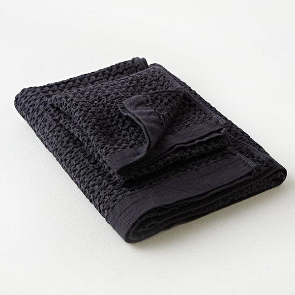 Brera Bath Towel - Extra Large - Navy