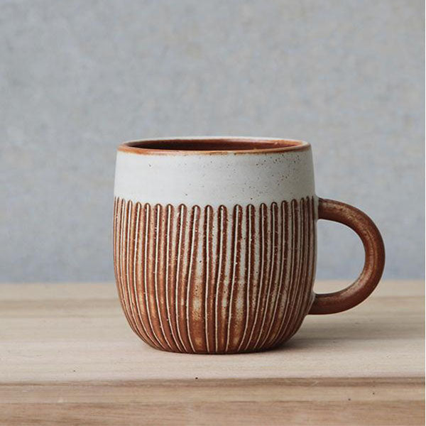 Rounded Cup - Fire on Glaze