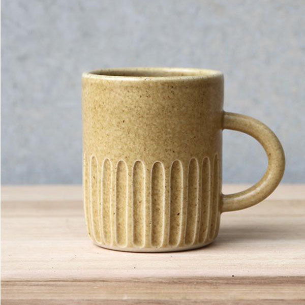 Handled Cup - Wheat