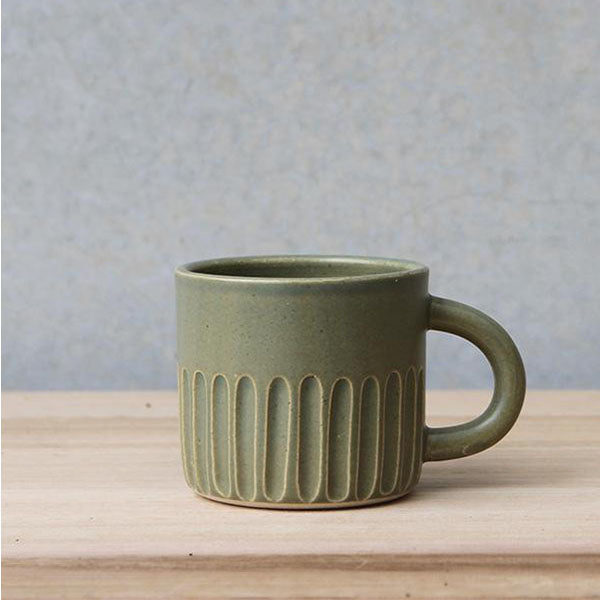 Handled Cup - Sage