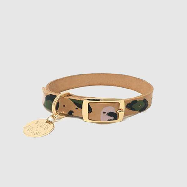 Nice Digs Collar - Animal - Evergreen - Extra Large