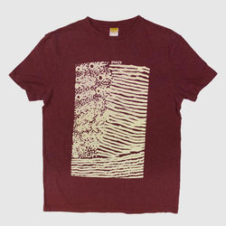 Screen Printed T-Shirt - Wine