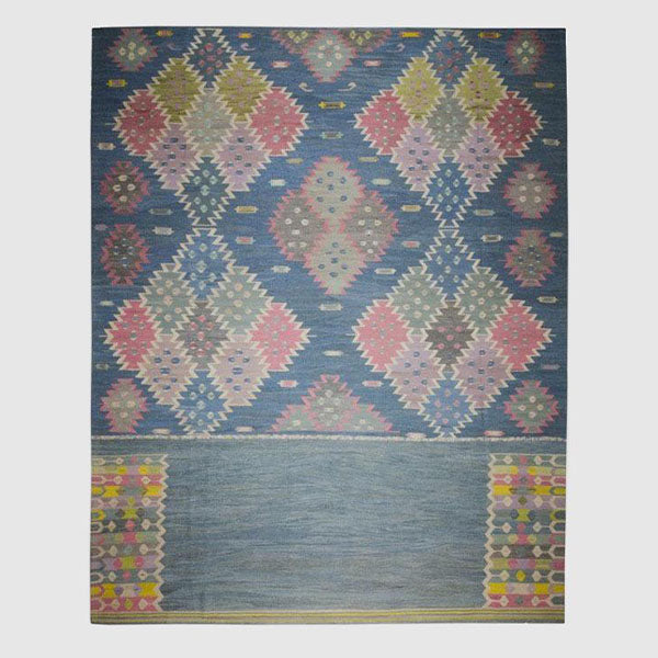 Floor Rug - Old Yarn Kilim - 4164