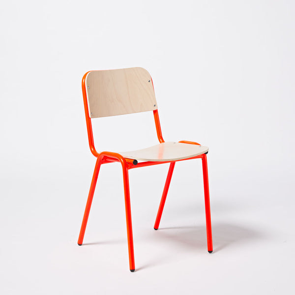 Imperfect - Jake Chair - Fluro Red (Wide)