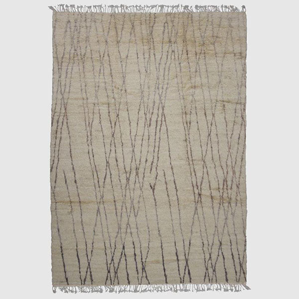 Floor Rug - New Berber Collection - Natural - 4045