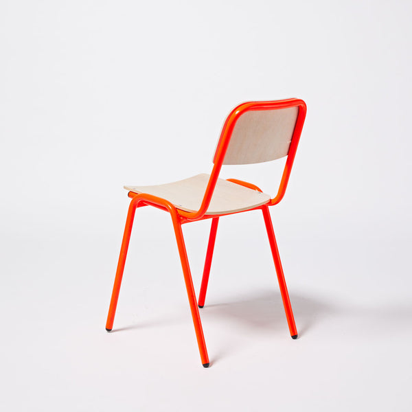 Imperfect - Jake Chair - Fluro Red