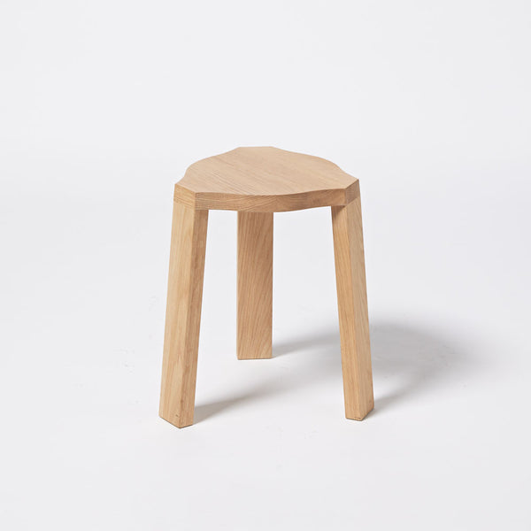 Imperfect - Base Stacking Stool - Oak