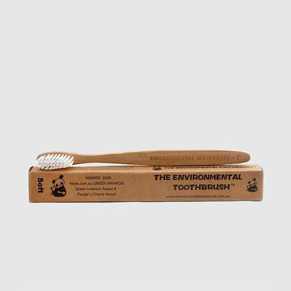 Bamboo Toothbrush - Adult - Soft