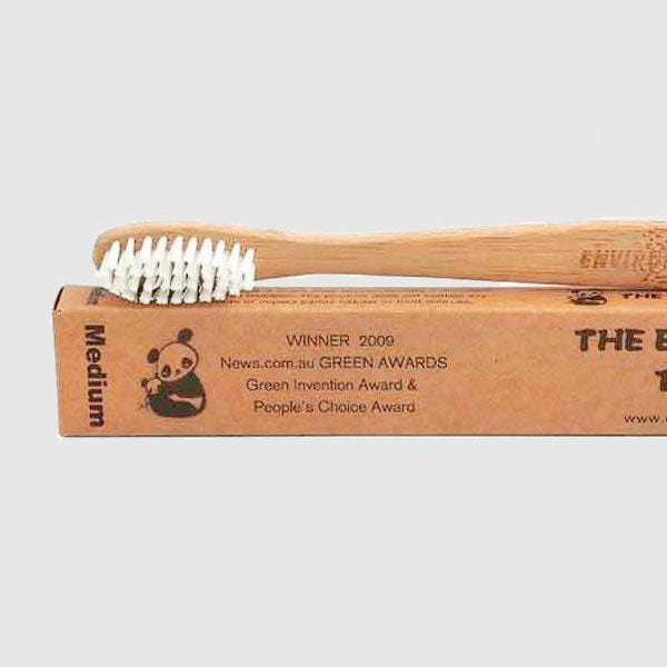 Bamboo Toothbrush - Adult - Medium