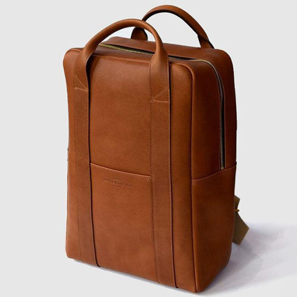 Leather Backpack - 15