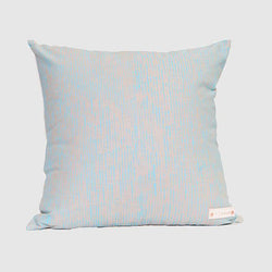 Cushion - Raelene Kerinauia - Sky Blue on Grey