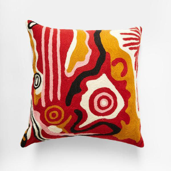 Cushion - Damien and Yilpi Marks - DYM931