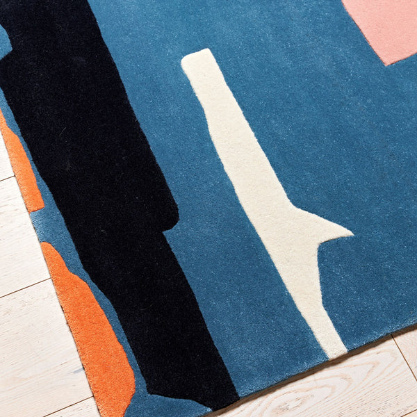 Hand Tufted Rug - Midnight Dinner