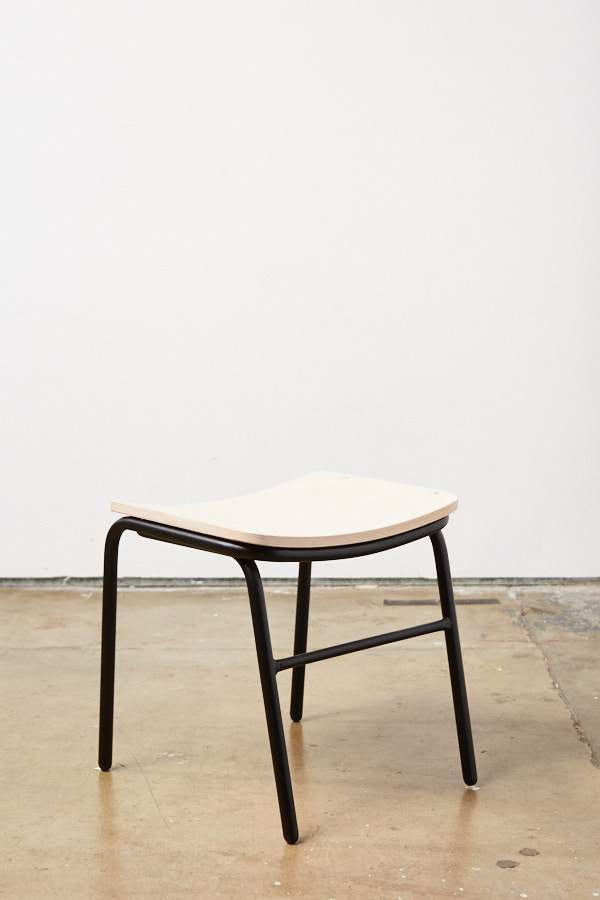 Jake Stool - Low - Black