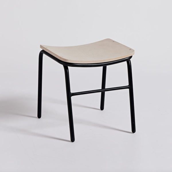 Imperfect - Jake Stool Low Wide - Black