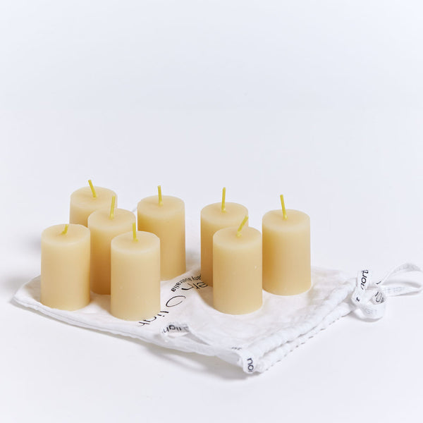 Northern Light Twilight Candles - 8 Votives