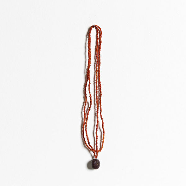 Wuladhi Ruluj Exhibition - Seed Necklace - Joy Wilfred