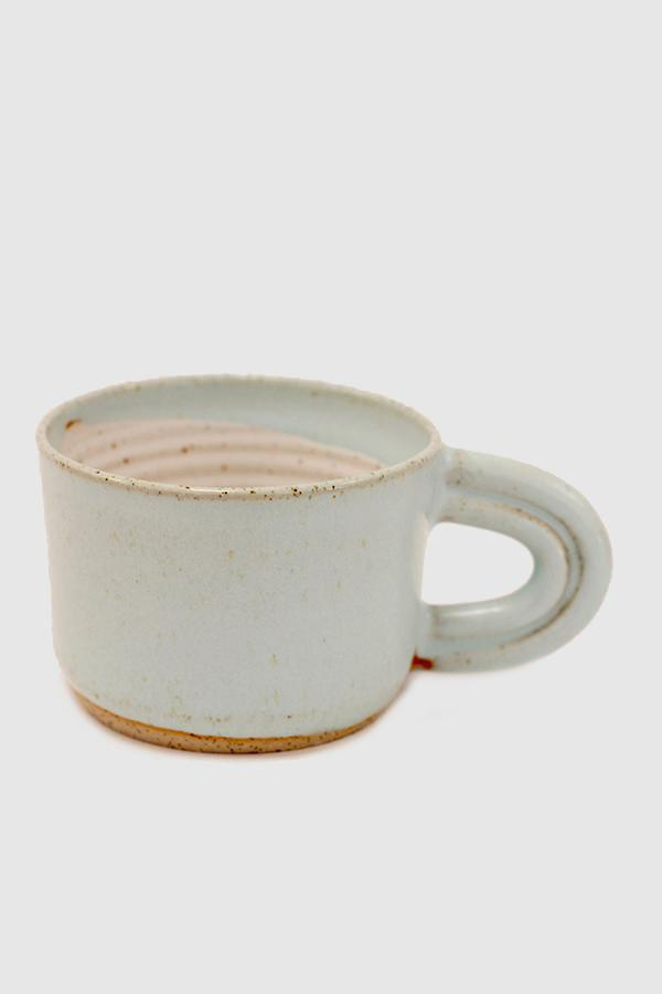 Rainbow Handle Mug - Blue
