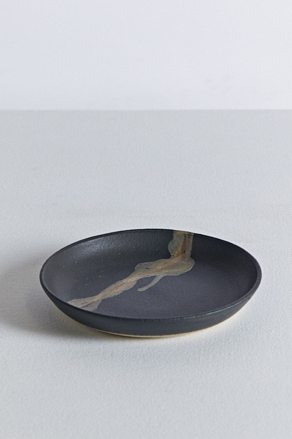 Shallow Pasta Bowl - Matte Black