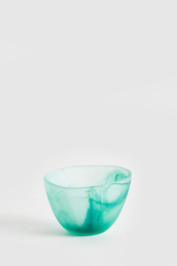 Glass Sorbet Bowl - Teal