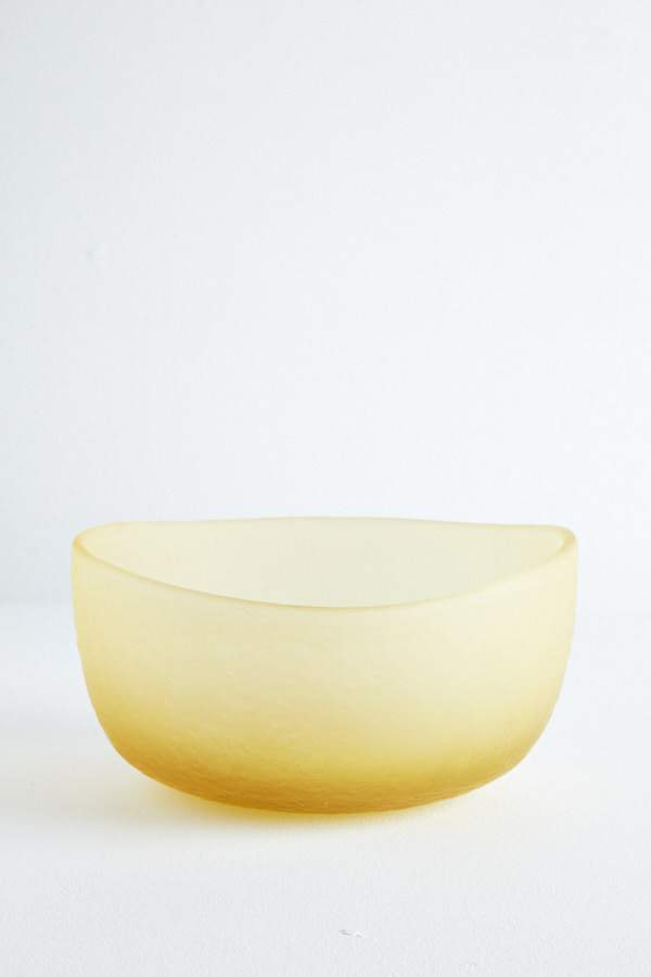 Glass Fruit Bowl - Butter