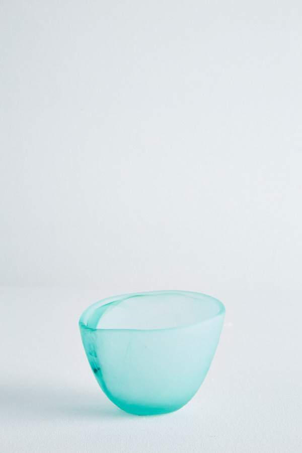 Glass Gelati Bowl - Teal
