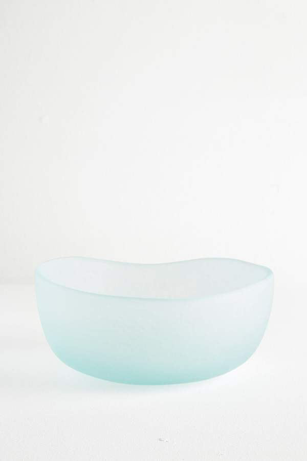 Glass Fruit Bowl - Ice