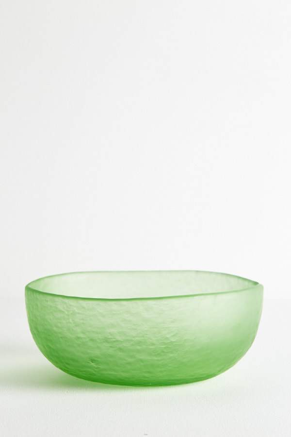 Glass Fruit Bowl - Apple