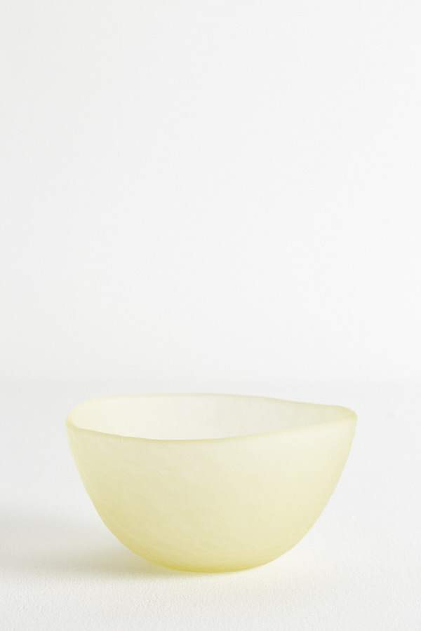 Glass Dessert Bowl - Butter