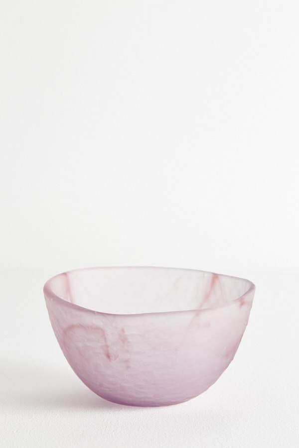Glass Dessert Bowl - Berry