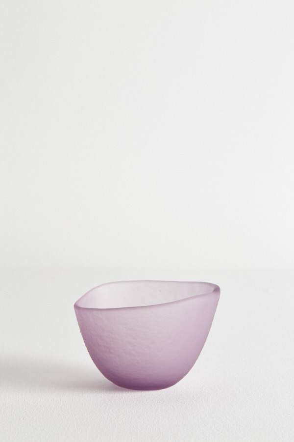 Glass Gelati Bowl - Berry