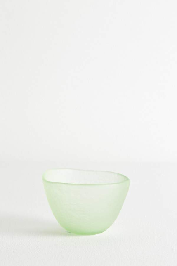 Glass Sorbet Bowl - Apple