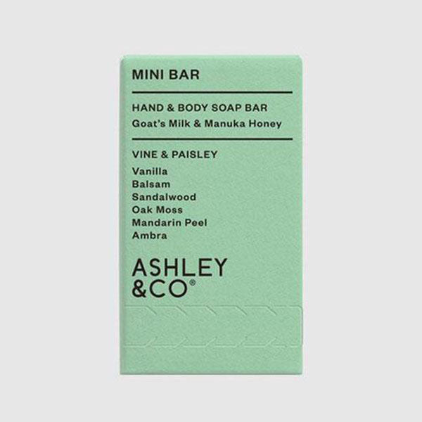 Mini Bar - Vine and Paisley
